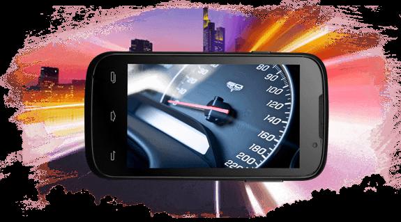 Prestigio MultiPhone 5453 DUO černý - výkon