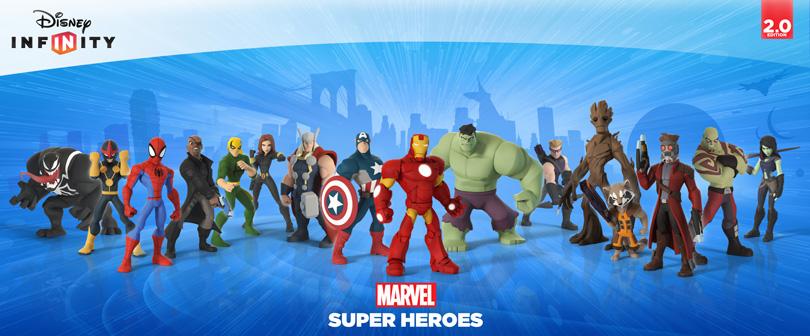 Marvel Super Heroes Starter Pack