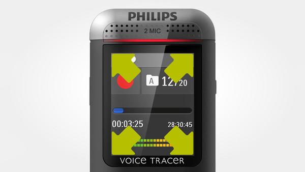 Philips DVT2500 čierny