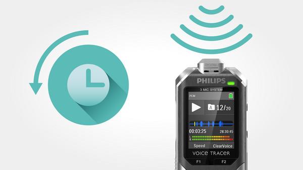 Philips DVT6000 čierno-strieborný