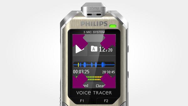 Philips DVT8000 strieborný