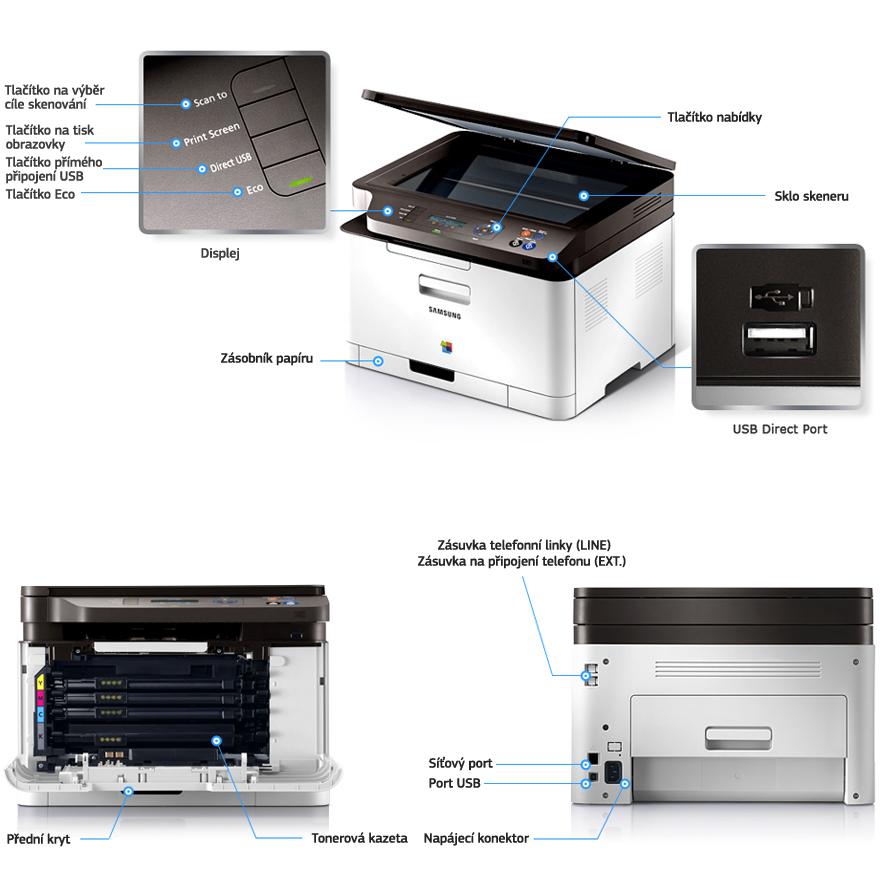 tiskarna samsung