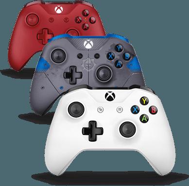 Bezdrôtové ovládače Xbox One