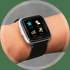 88952f2d0 Fitbit Versa – Gray/Silver Aluminum - Smart hodinky | Alza.sk