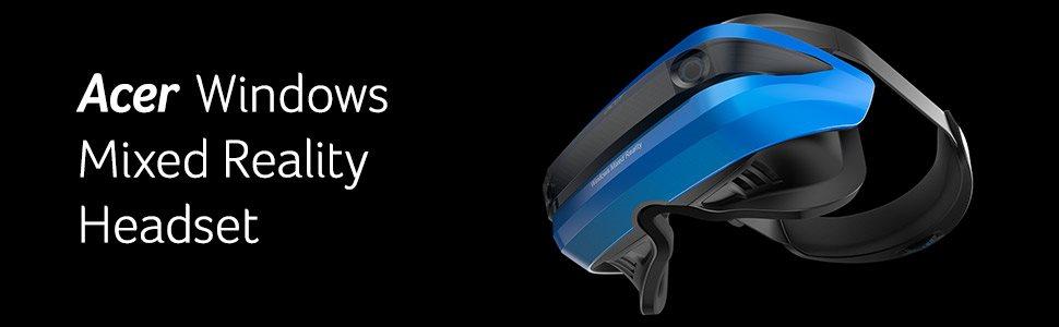 72c8d334c Acer Windows Mixed Reality Headset. Predstavte si vzrušenie z virtuálnej  reality v kombinácii s fenomenálnym priestorovým uvedomením, ktoré prináša  skutočne ...