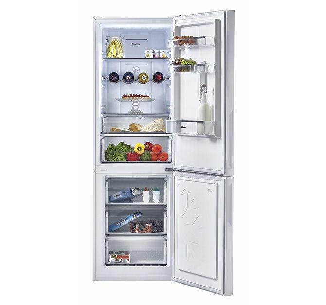 Tichá a úsporná kombinovaná chladnička