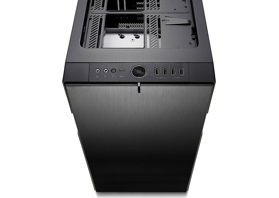 6bf0c3067 Fractal Design Define R6 USB-C Blackout Tempered Glass - Počítačová ...
