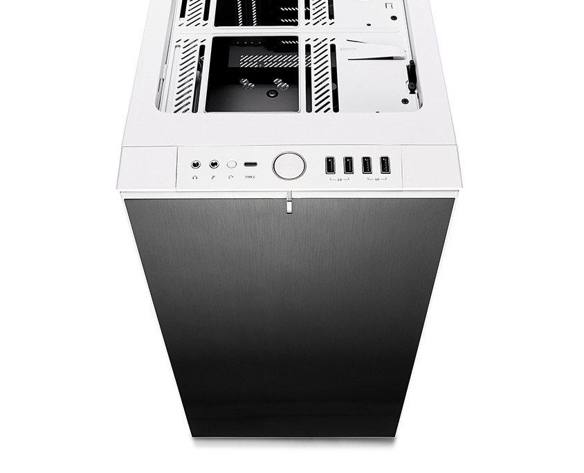 b87e84372 Fractal Design Define R6 USB-C biela Tempered Glass - Počítačová ...