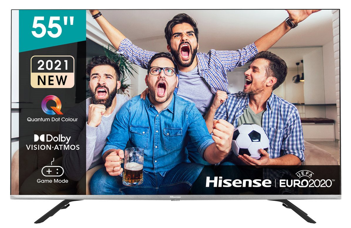 """Televízor 55"""" Hisense 55E76GQ SMART, 139cm, 4K"""