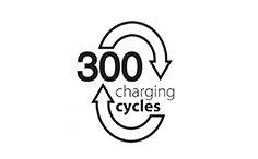 300 nabíjecích cyklů