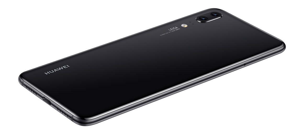 Huawei P20, dizajn