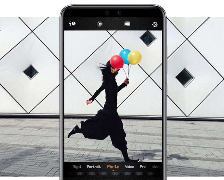 Huawei P20, momentky