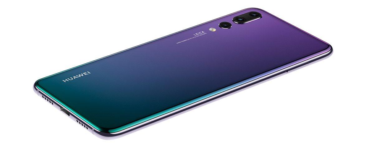 Huawei P20 Pro, dizajn