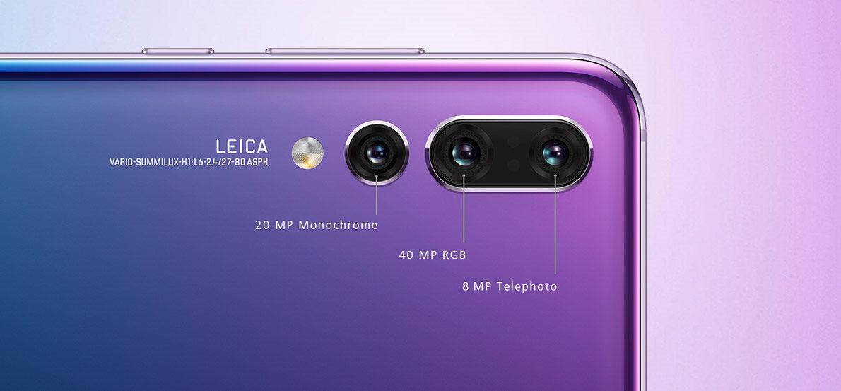 Huawei P20 Pro, Leica
