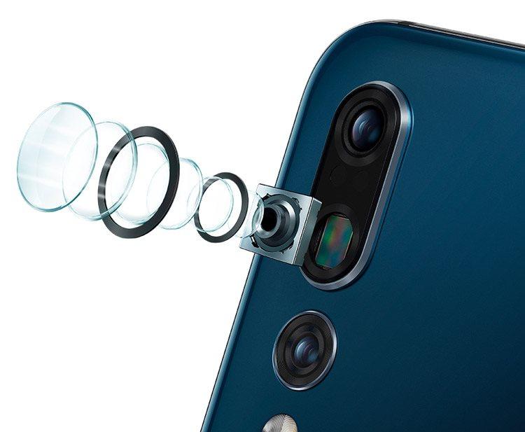 Huawei P20 Pro, Zoom