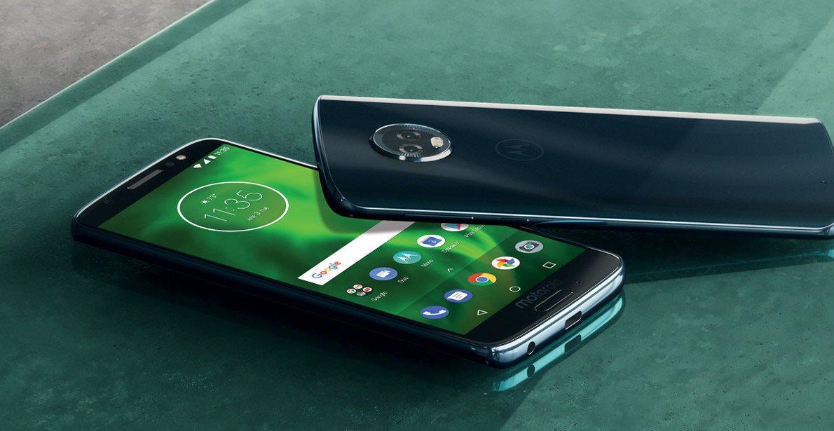 Mobilní telefon Motorola Moto G6, design