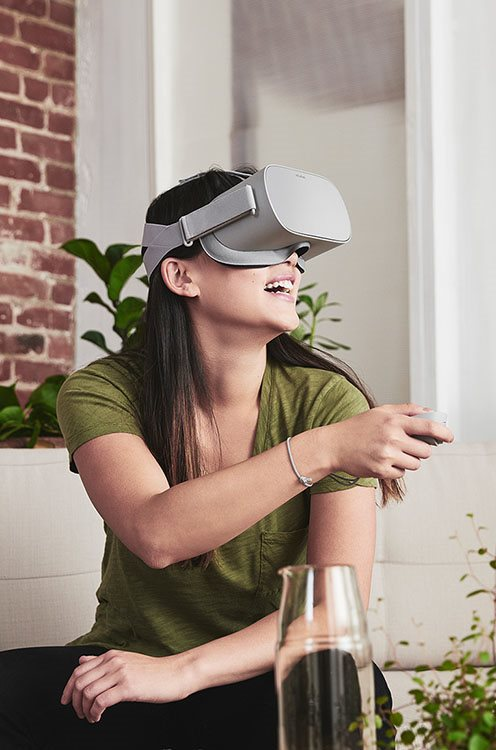 Okuliare na virtuálnu realitu Oculus Go
