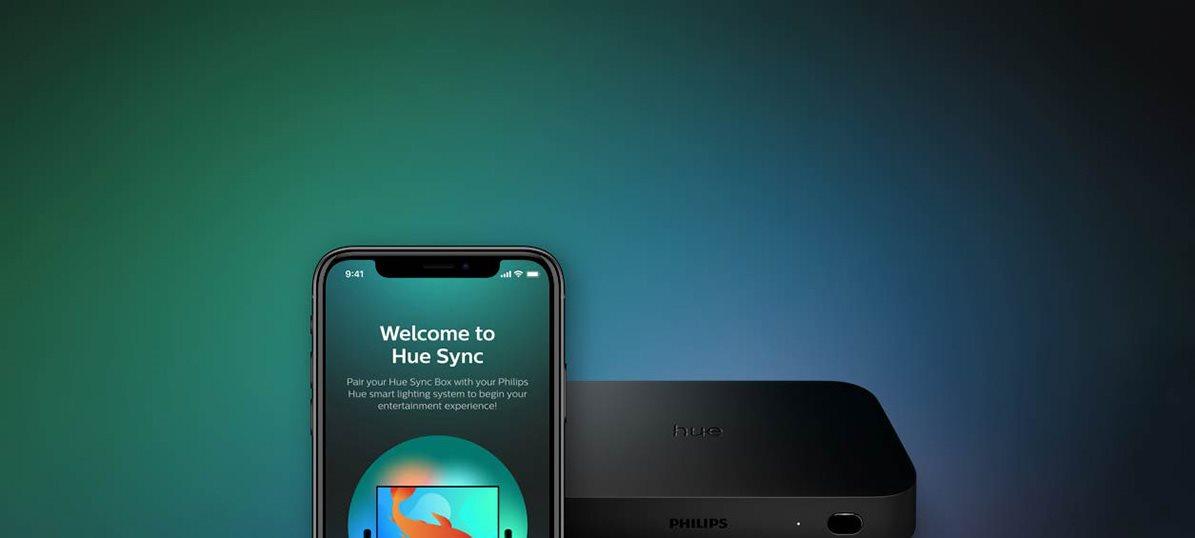 Mobilní aplikace Hue Sync