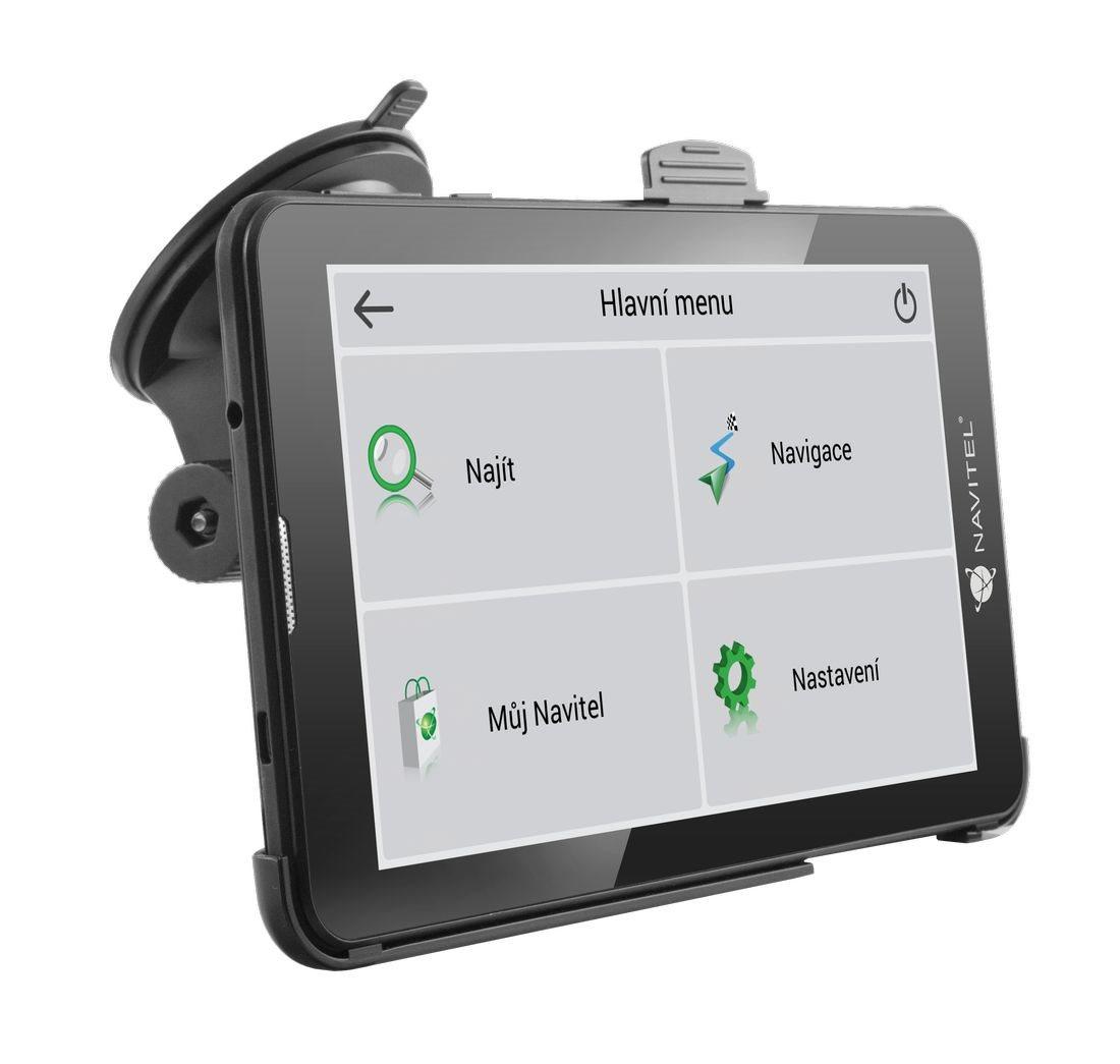 GPS navigácia NAVITEL T500 - menu
