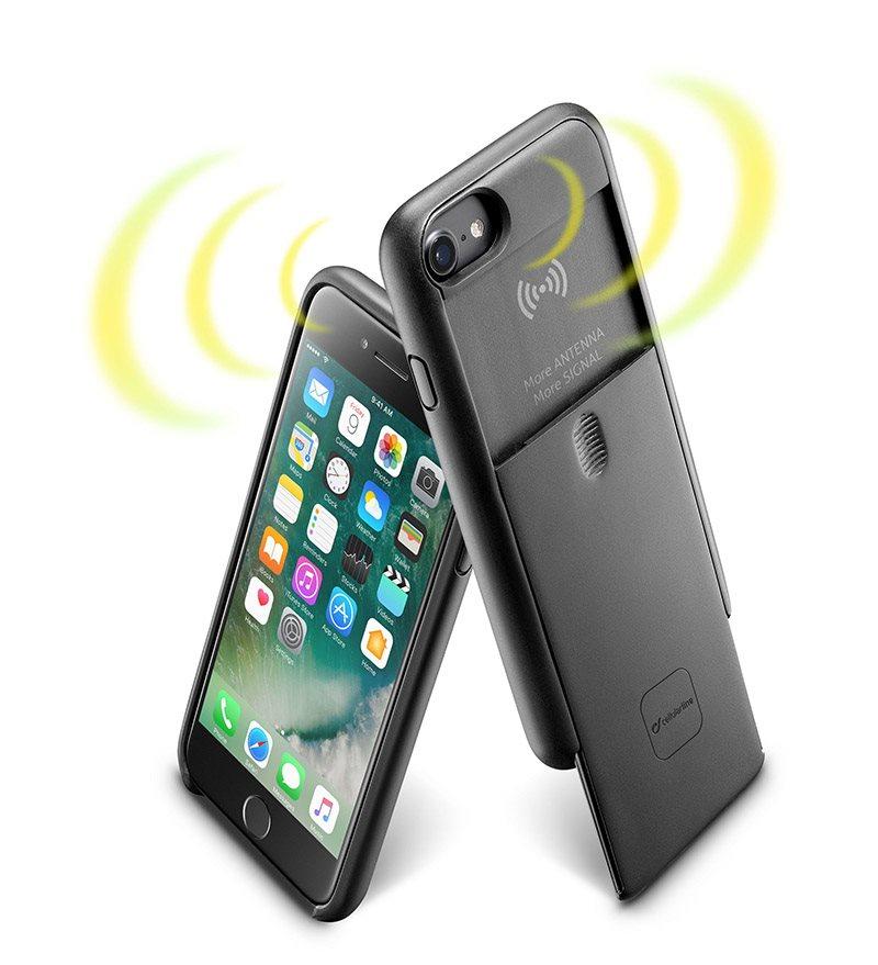 Cellularline ANTENNA na iPhone 6 6S čierny - Ochranný kryt  cb7d1ac7d44
