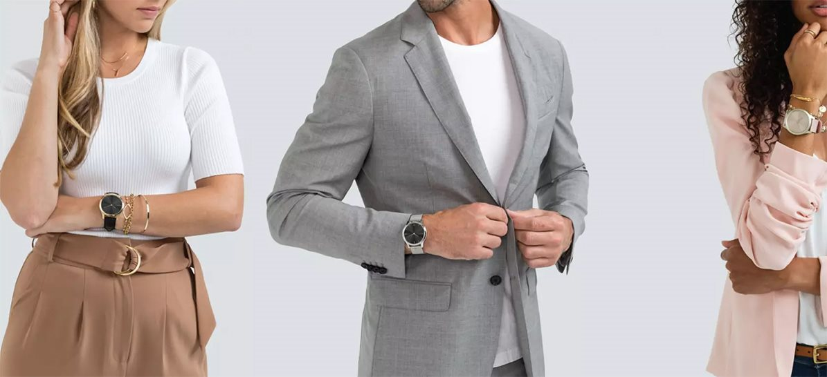 Elegantné inteligentné fitness hodinky