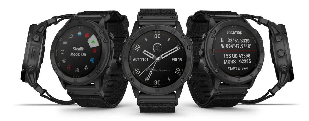 Inteligentné outdoorové hodinky Garmin tactix Delta Solar Ballistics