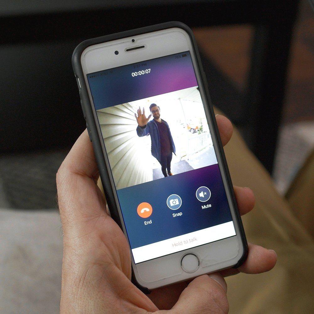 Videotelefón Eques Veiu, aplikácia