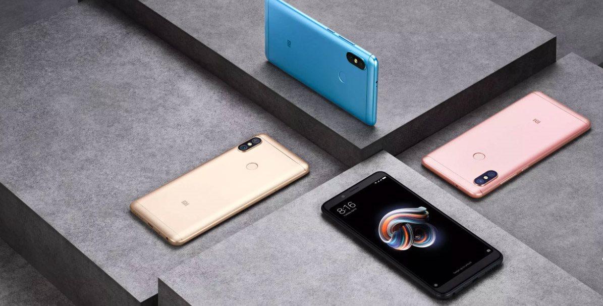 Mobilný telefó Xiaomi Redmi Note 5, farby