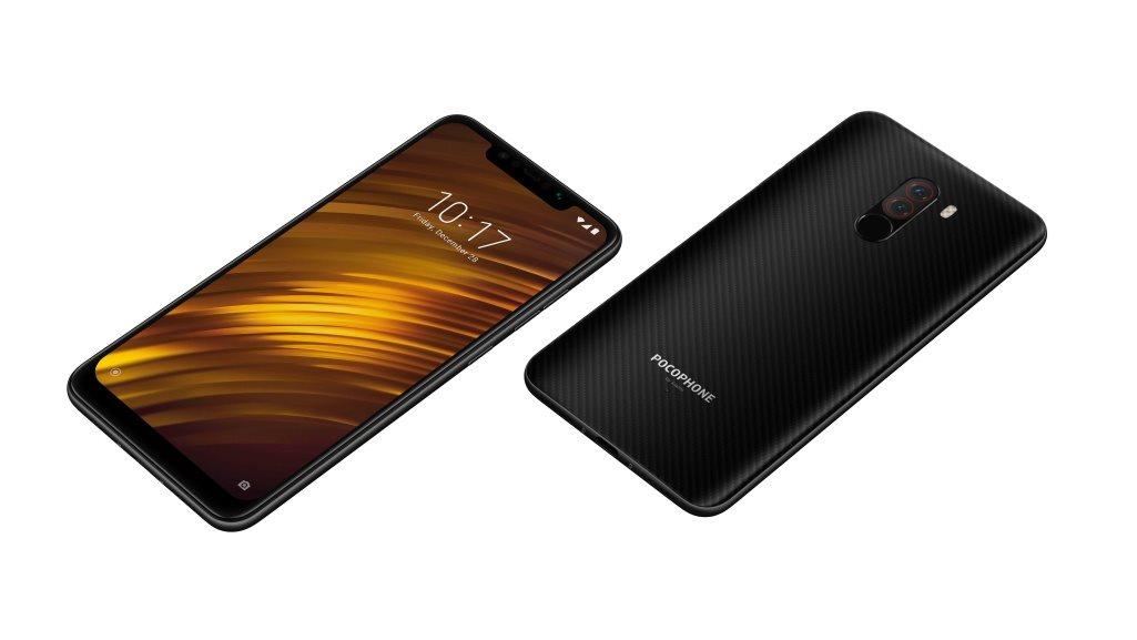 Xiaomi Pocophone F1 (64 GB, sivý)