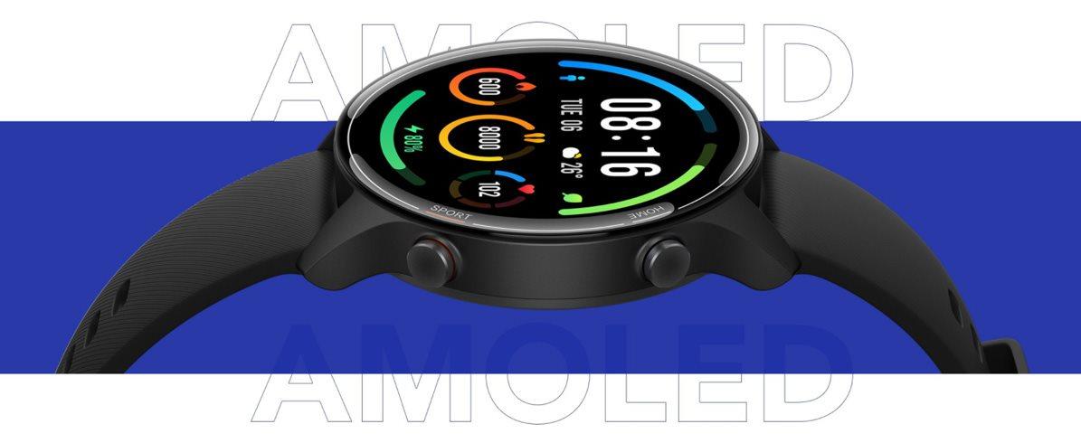 Inteligentné hodinky Xiaomi Mi Watch Black
