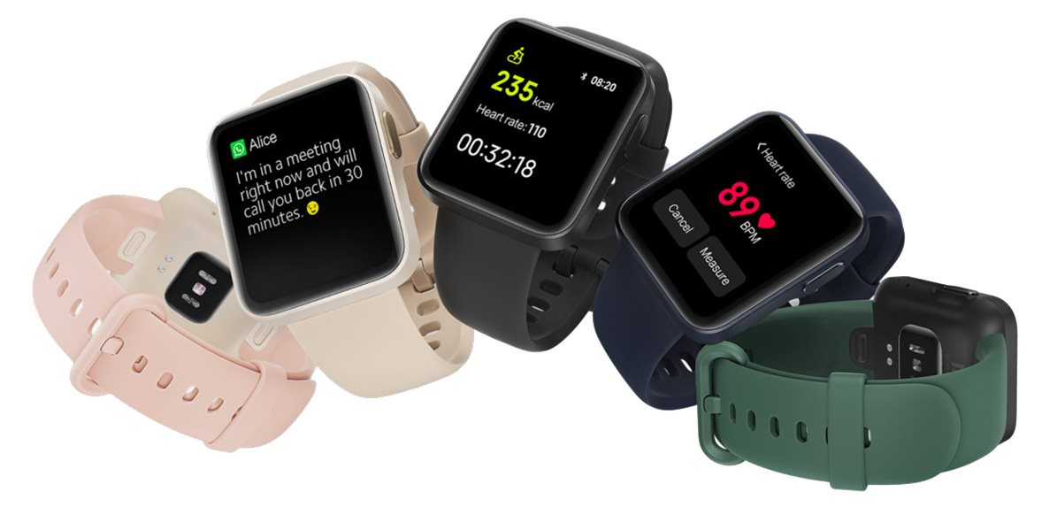 Smart hodinky Xiaomi Mi Watch Lite Black