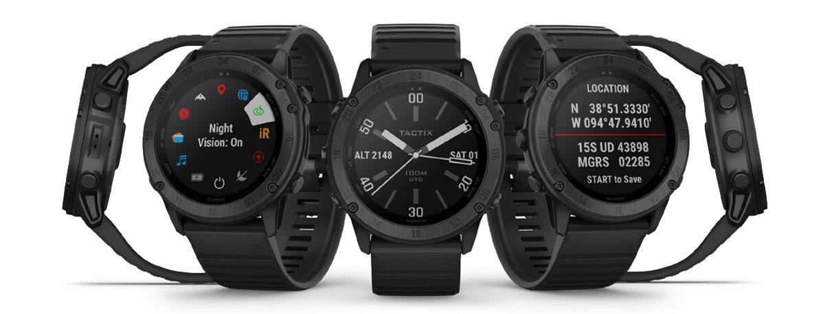 Chytré hodinky s taktickými funkcemi