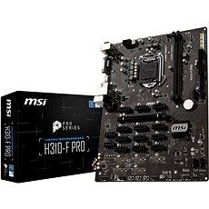 MSI H310-F PRO - Základná doska
