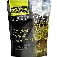 AdventureMenu – Kurča na divoko súprava (jedlo + ohrev + zipper bag) - Sada