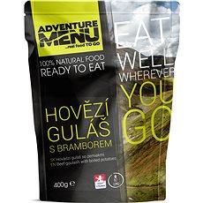 Adventure Menu – Hovädzí guláš  (jedlo + ohrev + zipper bag) - Sada