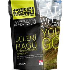 Adventure Menu – Jelenie ragú  (jedlo + ohrev + zipper bag) - Sada