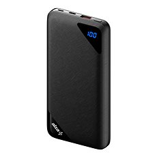 AlzaPower Source 16000 mAh Quick Charge 3.0 Black - Powerbank