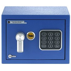 YALE Safe mini YSV/170/DB1/B modrý - Trezor
