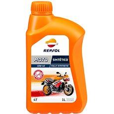 REPSOL MOTO SINTETICO 4-T 10 W - 40 1 l - Motorový olej