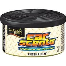 California Scents, vôňa Car Scents Fresh Linen - Vôňa do auta