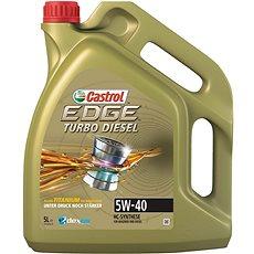 EDGE Turbo Diesel 5W-40 TITANIUM FST 5l - Motorový olej