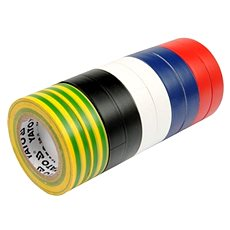 YATO Páska izolačná 19 x 0,13 mm x 20 m farebná 10 ks - Páska