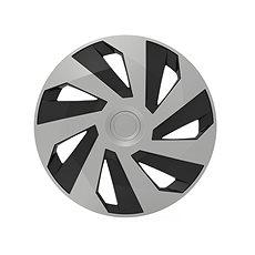 """VERSACO Puklice VECTOR 15"""" silver/black - Puklice na kolesá"""
