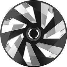 """VERSACO Puklice VECTOR RC 13"""" black/silver - Puklice na kolesá"""