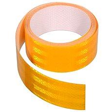 Samolepiaca páska reflexná 1 m× 5 cm, žltá - Páska