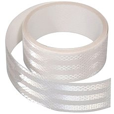 Samolepiaca páska reflexná 1 m × 5 cm, biela - Páska