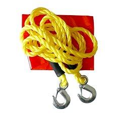 Compass Ťažné lano 3000 kg s karabínami - Ťažné lano