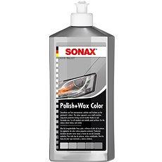 SONAX Polish & Wax COLOR striebornosivá, 500 ml - Autokozmetika