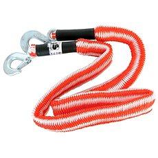 CARPOINT Ťažné lano pružné s 2 hákmi 2800 kg - Ťažné lano