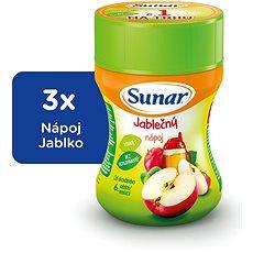 Sunárek instantný nápoj jablko - 3x 200g - Nápoj